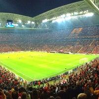 Photo taken at Türk Telekom Arena by Asim A. on 10/23/2013