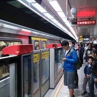 Photo taken at MRT Taipei Main Station by Jimmy W. on 4/23/2013