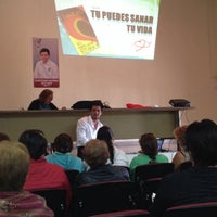 Photo taken at unidad deportiva Dr. Valdemar Gutierrez Fragoso Tlalpizahuac IMSS by Victor L. on 5/29/2014