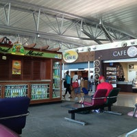 Photo taken at Norman Manley International Airport (KIN) by Diana K. on 6/16/2013