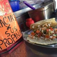Photo taken at Marisma Fish Taco - Vallarta Centro by Tatiana B. on 1/18/2015