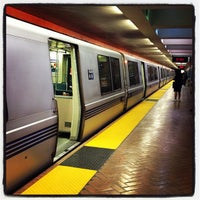 Photo taken at Powell St. BART Station by Robert H. on 4/2/2013
