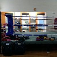 Photo taken at Combat Kickboxing by Louis L. on 4/17/2014