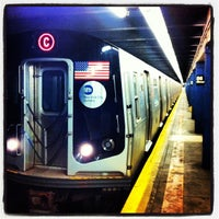 Photo taken at MTA Subway - 86th St (B/C) by Bill S. on 8/10/2013