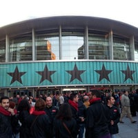 Photo taken at Barclaycard Center - Palacio de Deportes de la Comunidad de Madrid by Ramón R. on 11/6/2012