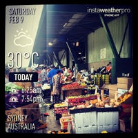 Photo taken at Sydney Markets by Kunal G. on 2/9/2013