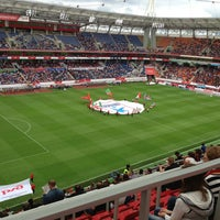 Photo taken at Стадион «Локомотив» by Sergey on 7/28/2013