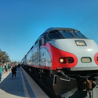 Photo taken at Hayward Park Caltrain Station by adamrocker on 5/18/2013