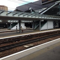 Photo taken at Haymarket Railway Station (HYM) by Kags on 7/29/2014