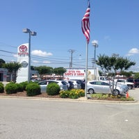 Photo taken at Rice Toyota by Andy S. on 5/26/2014