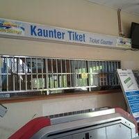 Photo taken at KTM Line - Kepong Sentral Station (KA07) by Azmi M. on 7/13/2013