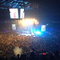 Photo taken at SMART Araneta Coliseum by Joya G. on 3/31/2013