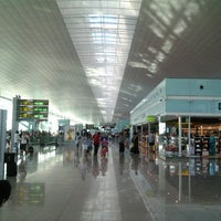 Photo taken at Barcelona–El Prat Airport (BCN) by C D. on 7/29/2013