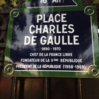 Photo taken at Place Charles de Gaulle by Kevin K. on 11/15/2013