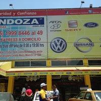 Photo taken at Refaccionaria Mendoza by Juan Salvador B. on 4/12/2013