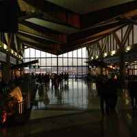 Photo taken at Gate D8 by Kevin B. on 5/19/2013