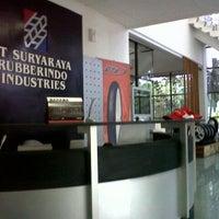 Photo taken at PT. Suryaraya Rubberindo Industries PE2 office by Vayanrogabe S. on 5/15/2013