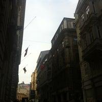 Photo taken at Bankalar Caddesi by NursalS K. on 1/4/2013