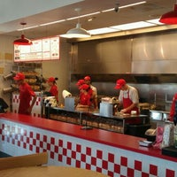 Photo taken at Five Guys by Long-long L. on 9/24/2011