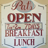 Photo taken at Pat's Colonial Kitchen by Paul W. on 7/7/2013