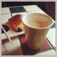 Photo taken at Riccos Kaffebar by Gustavo G. on 5/19/2013