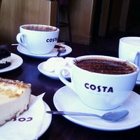 Photo taken at Costa Coffee by Tanya G. on 4/22/2013