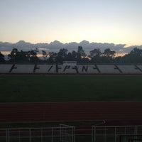 Photo taken at Estadio Wilfrido Massieu by Beatriz A. on 6/25/2013