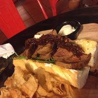 Photo taken at Malones Irish Restaurant & Bar by Sam .. on 11/28/2014