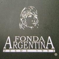 Photo taken at Fonda Argentina by Omar D. on 11/9/2012