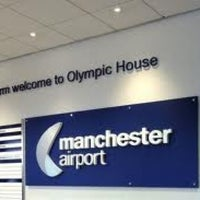 Photo taken at Manchester International Airport (MAN) by Ahmad I. on 11/23/2012