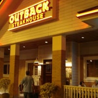 Photo taken at Outback Steakhouse by Hector B. on 8/25/2013