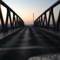 Photo taken at Pont de Bizerte by Karim K. on 7/22/2013