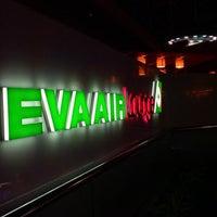 Photo taken at EVA Air Lounge by Seb L. on 7/14/2013