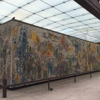 """Photo taken at Chagall Mosaic, """"The Four Seasons"""" by Natalia B. on 11/30/2015"""