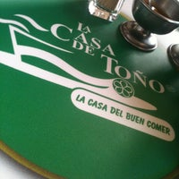 Photo taken at La Casa de Toño by Samuel N. on 4/26/2013