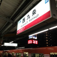 Photo taken at JR Nishikujō Station by Clint L. on 2/12/2013