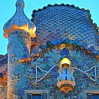 Photo taken at Casa Batlló by Rashed A. on 5/19/2013