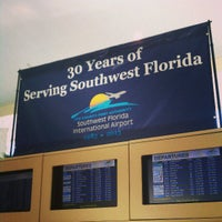 Photo taken at Southwest Florida International Airport (RSW) by Tyler W. on 5/10/2013