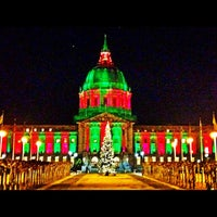Photo taken at San Francisco City Hall by Emma G. on 12/7/2012