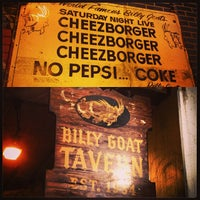 Photo taken at Billy Goat Tavern by Brian P. on 7/21/2013