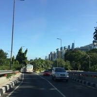 Photo taken at Jalan Jend. Ahmad Yani by Nur K. on 8/6/2014
