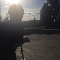 Photo taken at Tualatin Hills Skate Park by Bobbie D. on 3/19/2014