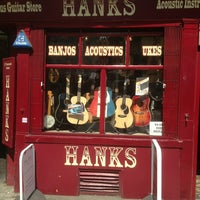Photo taken at Hank's Guitar Shop by Christoph H. on 6/6/2013
