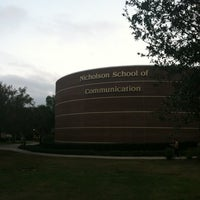 Photo taken at UCF Nicholson School of Communication by Mark K. on 11/28/2012