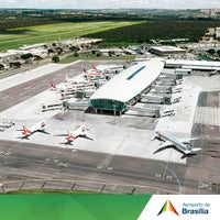 Photo taken at Brasília Presidente Juscelino Kubitschek International Airport (BSB) by Aeroporto Internacional de Brasília / Presidente Juscelino Kubitschek (BSB) on 7/29/2014