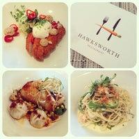 Photo taken at Hawksworth Restaurant by Alex M. on 4/29/2013