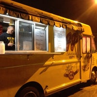 Photo taken at JJ's Hot Dog Truck by Ed C. on 12/20/2013
