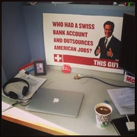 Photo taken at Democratic National Committee Headquarters by Eric R. on 11/19/2013