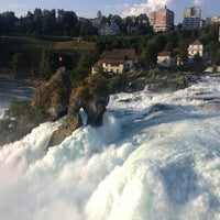 Photo taken at Rheinfall by Claire E. on 7/25/2013