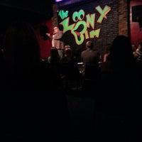 Photo taken at Loony Bin Comedy Club by Ron G. on 7/7/2013